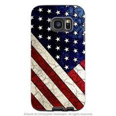 American Flag Galaxy NOTE 5 TOUGH Case Stars & Stripes - Design #090 - The…