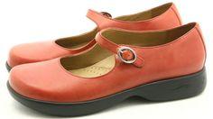 Dansko 40 Dianna womens dress shoes Size 9.5 10 Red Veg MaryJane clogs EXCELLENT #Dansko #Clogs @ebay