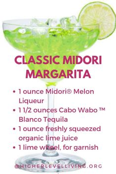 Seven Skinny Margarita Recipes - Higher Level Living Blood Orange Margarita, Skinny Margarita, Tasty Tacos Recipe, Midori Melon, Low Calorie Cocktails, Margarita Recipes, Drink Recipes, Ginger Lemonade