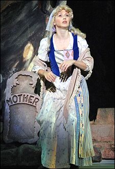 Cinderella in Into the Woods costume. I like this one.