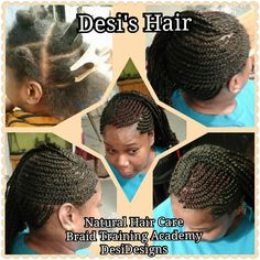 Desi's Hair Cornrow Styles