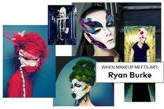 The Next-Level Self-Portraits of Ryan Burke   Beautylish