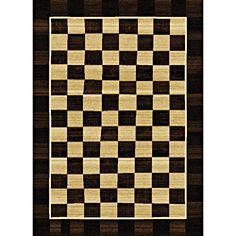 chessboard rug