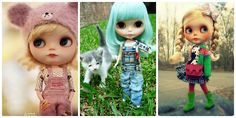 blythe doll before and after - Google Search