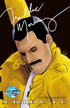 Tribute: Freddie Mercury: Freddie Mercury was one of the best performers of his generation. Now read the story behind the legend. His childhood in the paradise island of Zanzibar, his exile to England, and then going on to become the front man for one of the greatest bands of all time Queen.  This special comic book is a tribute of his life and accompaniments he made to the world of music.
