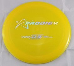400s D3 Driver 173g Prodigy Discs Yellow Disc Golf Disc
