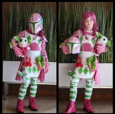 Sam Mini, a young cosplayer with a passion for Star Wars, composed this cosplay inspired by the space western The Mandalorian and the classic cartoon Cosplay Diy, Best Cosplay, Cosplay Costumes, Classic Cartoon Characters, Classic Cartoons, Rare Comic Books, Strawberry Shortcake Characters, Mandalorian Cosplay, Tumblr