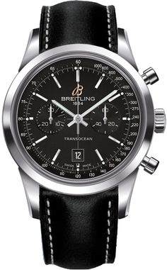 A4131012/BC06 NEW BREITLING TRANSOCEAN CHRONOGRAPH 38 MENS WATCH  IN STOCK   - FREE Overnight Shipping | Lowest Price Guaranteed    - NO SALES TAX (Outside California)- WITH MANUFACTURER SERIAL NUMBERS- Black Dial- Chronograph Feature - Self Winding Automatic Chronometer Movement- 3 Year Warranty- Guaranteed Authentic- Certificate of Authenticity- Manufacturer Box