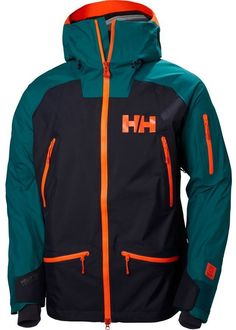 Shop for Men's Helly Hansen Ridge Shell Jacket Everglade. Get free delivery On EVERYTHING* Overstock - Your Online Men's Clothing Shop! Ski Gear, Long Sleeve Tee Shirts, Shell, Helly Hansen, Men Style Tips, Motorcycle Jacket, Skiing, Mens Fashion, Fashion Tips