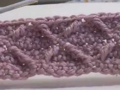 The Honeycomb Stitch - YouTube