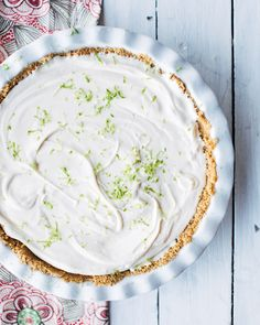 Whipped Key Lime Pie from @bhg