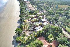 Sem entrada pela Rio-Santos, é acessada pela praia de Camburi e Barra do Sahy.