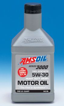 AMSOIL 5W-30 Synthetic Heavy-Duty Diesel Motor Oil  - Come check out the AMSOIL diesel products at http://shop.haldimandsyntheticoil.ca/motor-oil/diesel/