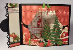 G45 How to make an Envelope Scene Card by Anne Rostad.  Video tutorial envelope card series 1