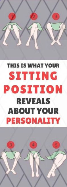What Does Your Sitting Position Reveal About Your Personality? Healthy Tips, How To Stay Healthy, Healthy Food, Healthy Recipes, Healthy Meals, Cardiac Diet, Sitting Positions, Make A Family, Human Behavior
