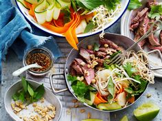 This tasty Asian fusion noodle dish is packed full of veggies and delicious ginger spiced flash-fried beef. Perfect for lunch or a quick weeknight…