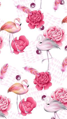 17 ideas for wallpaper pink flamingo patterns Frühling Wallpaper, Flamingo Wallpaper, Flamingo Art, Flamingo Pattern, Pink Flamingos, Pattern Wallpaper, Wallpaper Backgrounds, Wallpaper Ideas, Minnie Mouse Pictures