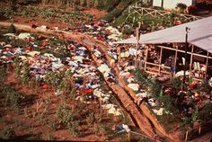 Mass suicide in Jonestown cult, 1978