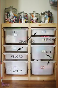 You ready to see where I keep all my crafting stuff? Finding a spot for all my treasures and glitter stash was the hardest part of the whol...