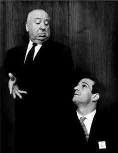 Hitchcock e Truffault... até a foto fica pequena....