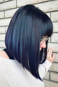 Beautiful Brunette Bob Hair Cut for Your Trendy Look ★ See more: http://lovehairstyles.com/brunette-bob-hair-cut/