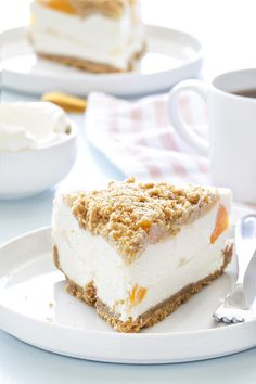 Peaches and cream pie is a heavenly way to celebrate summer. Make it for your next party!