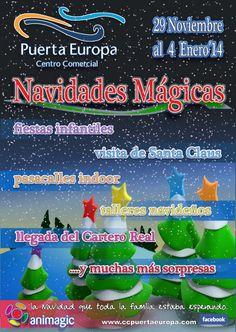 Con mucho cariño tratamos este cartel Navideño de 2013, ya que fué la primeras navidad que firmamos de colaboración con el Centro Comercial Puerta Europa de Algeciras.