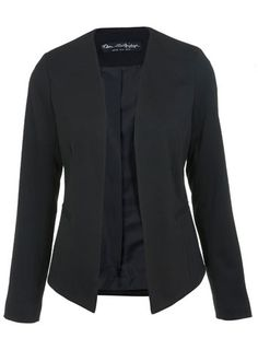 Black Edge to Edge Jacket - View All  - New In