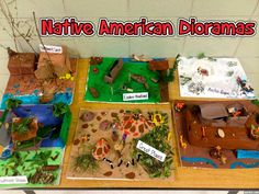 Project: Annual Native American Dioramas