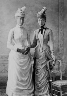 The Princess of Wales and her favorite daughter, Princess Victoria.