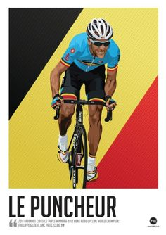Philippe Gilbert - Done an dusted.