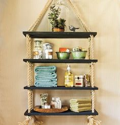 pretty... would make it with more rustic wood for the shelves though, if i ever have a reason for it that is.
