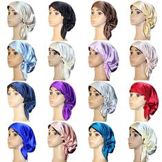 No worries about hair being everwhere. The product can keep your head warm and reduce heat loss if you wear it for sleeping. The night cap can maintain your hair style. How To Grow Natural Hair, Natural Hair Styles, Get Thicker Hair, Best Hair Removal Products, Perfect Hair Day, Hair Remedies For Growth, Hair Growth, Hair Care Tips, Laser Hair Removal