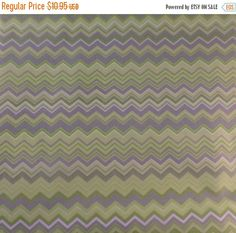 50% OFF SALE Cotton Fabric, Quilt, Home Decor,Green Gray Chevron, AE Nathan~ Fast Shipping, Mb174