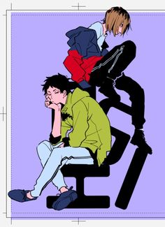 Kenma Kozume, Akaashi Keiji, Kuroken, Bokuaka, Haikyuu Fanart, Haikyuu Ships, Haikyuu Anime, Anime Manga, Anime Art