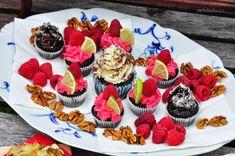 Chutě na sladké – Nehladu.cz Mini Cupcakes, Nutrition, Desserts, Food, Meal, Deserts, Essen, Hoods, Dessert