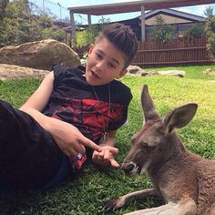 LEO AND A JOEY (get it? cause his brother's name is joey?) haha