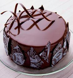 Frosting, Icing, Easy Cake Decorating, Cake Truffles, Amazing Cakes, Chocolate Cake, Panna Cotta, Like4like, Deserts