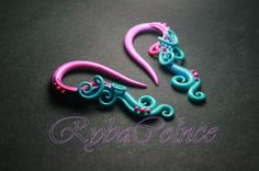Plugs  8g 6g 4g 2g 0g 3/8 1/2 9/16 5/8 3/4 0.8 1 by RybaColnce, $28.00