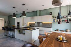 Cocina - Comedor | Proyecto de reforma Loft Barcelona | Standal #reformaintegral #reformas #Standal #decoración #interiorismo #cocinas #comedores #loft