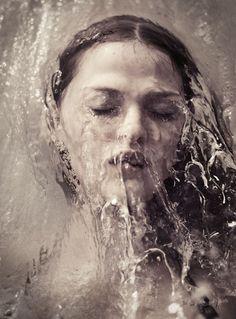 portraits women by Tom Hoops