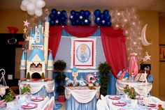 """Photo 7 of Cinderella Party / Birthday """"Once upon a time. Cinderella Theme, Cinderella Birthday, Cinderella Princess, Baby Girl Birthday, 1st Birthday Parties, 4th Birthday, Birthday Ideas, Princess Theme Party, Disney Princess Party"""
