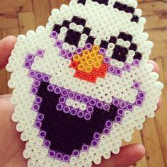 Olaf Frozen hama beads by kunduzcum