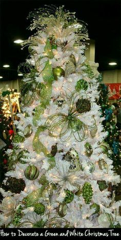 white tree white christmas trees christmas tree decorations xmas tree green christmas - Lime Green Christmas Tree Decorations