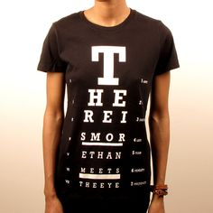 There Is More Tee Women's Black