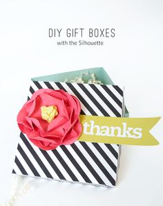 DIY-Gift-Box :: Created-using-the-Silhouette
