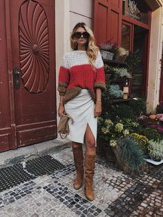 Shades of white and beige « CzechChicks Shades Of White, Beige, Sweaters, Dresses, Fashion, Vestidos, Moda, Fashion Styles, Sweater