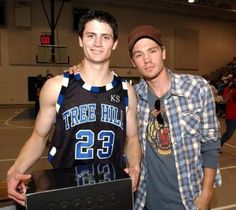 James Lafferty and Chad Michael Murray