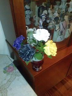 rosas de porcelana