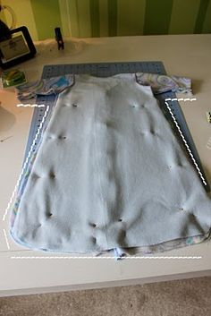 sleep sack with sleeves tutorial-now i need a sewing  machine!